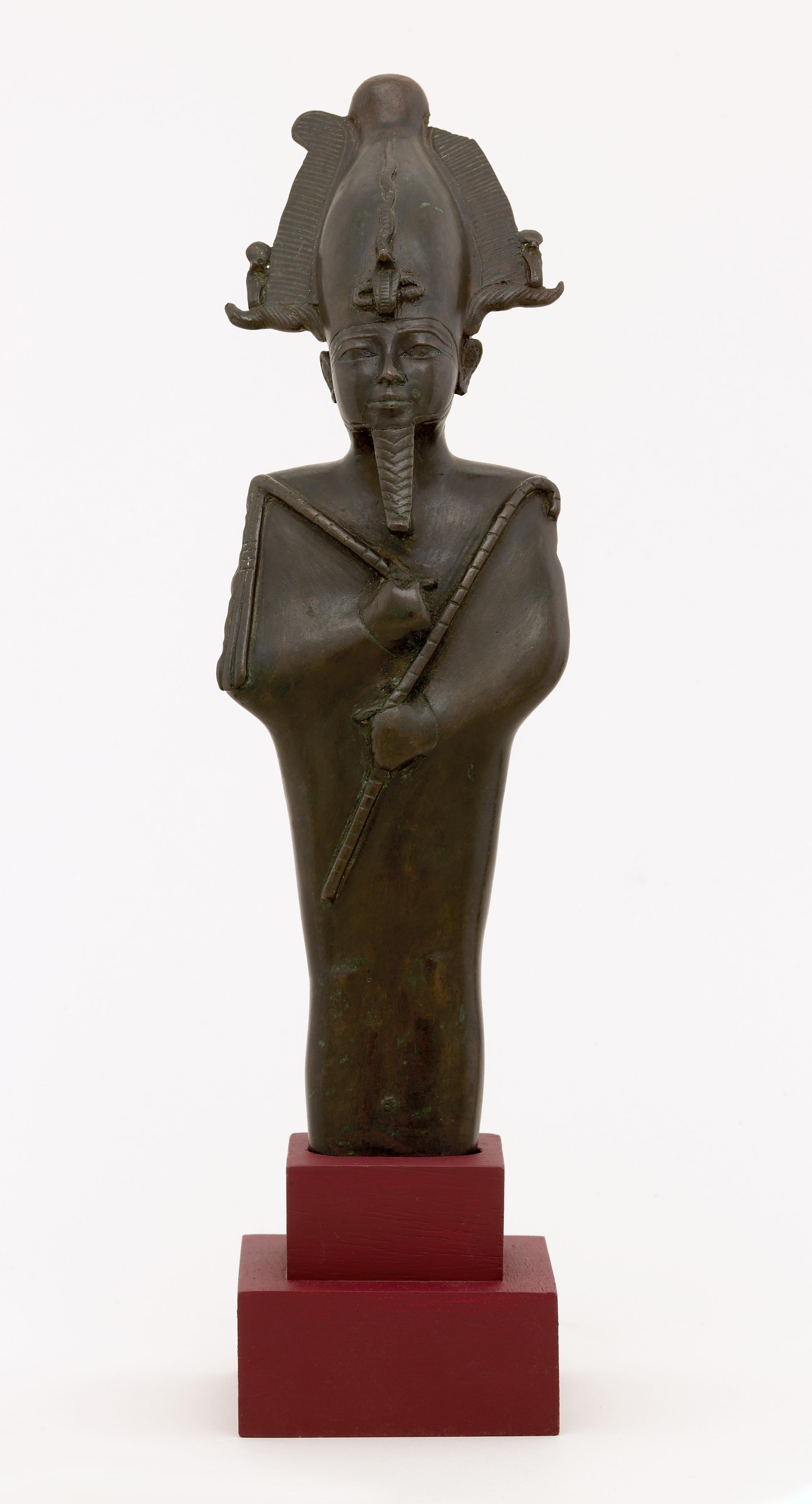 Beeld van staande Osiris
