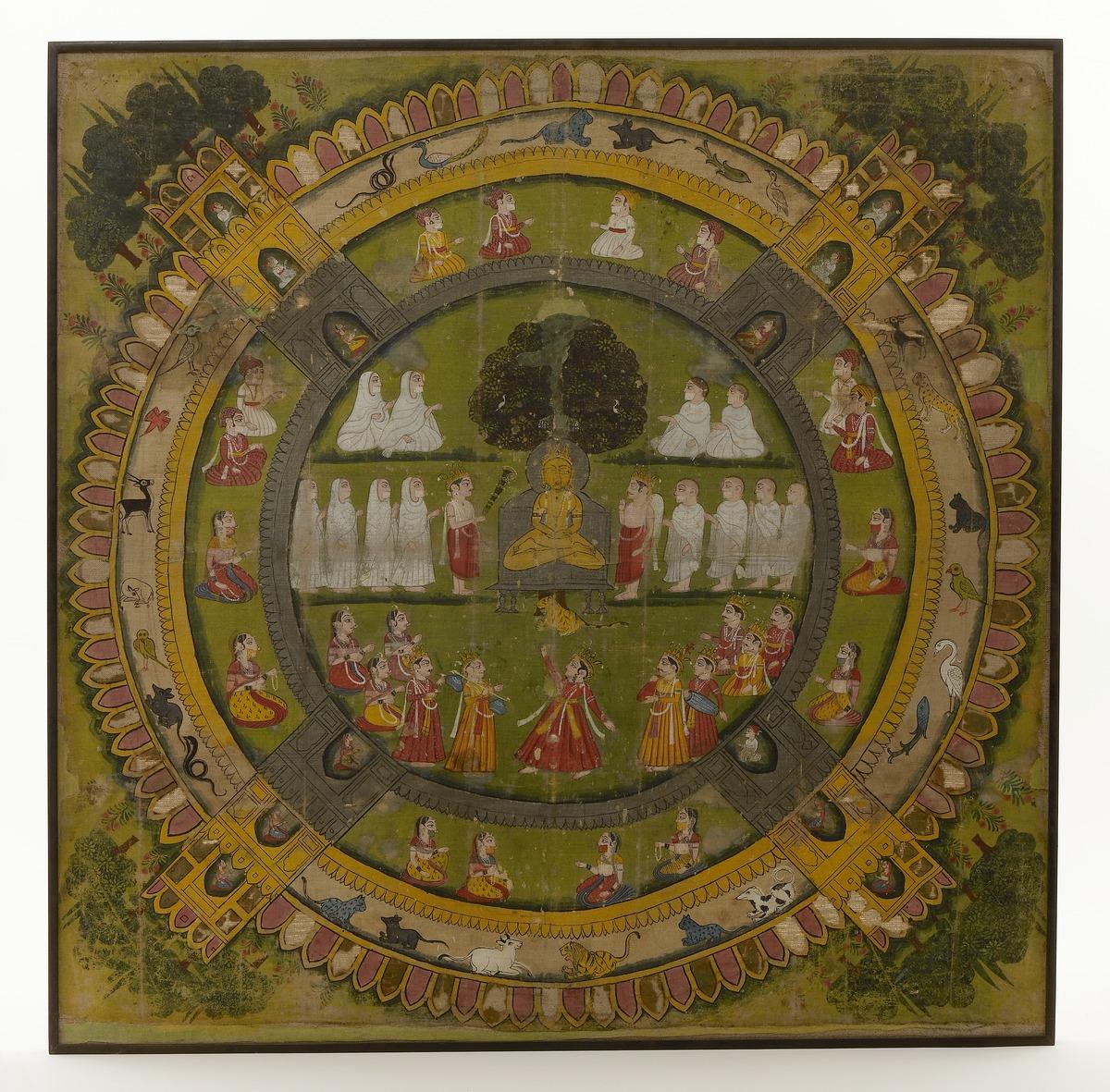 Samovasarana, prediking van Mahavira