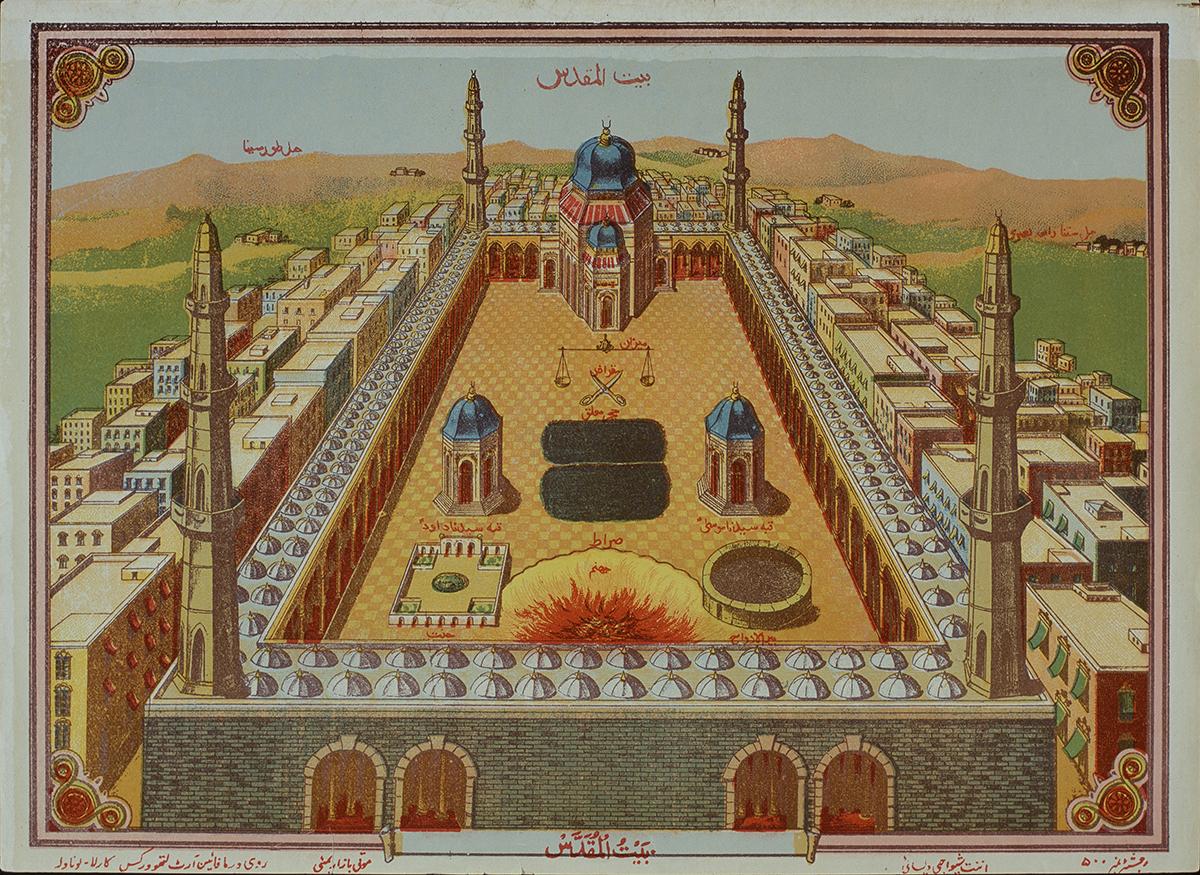 Tempelberg (Haram al-sjarief) en eindtijdsymbolen