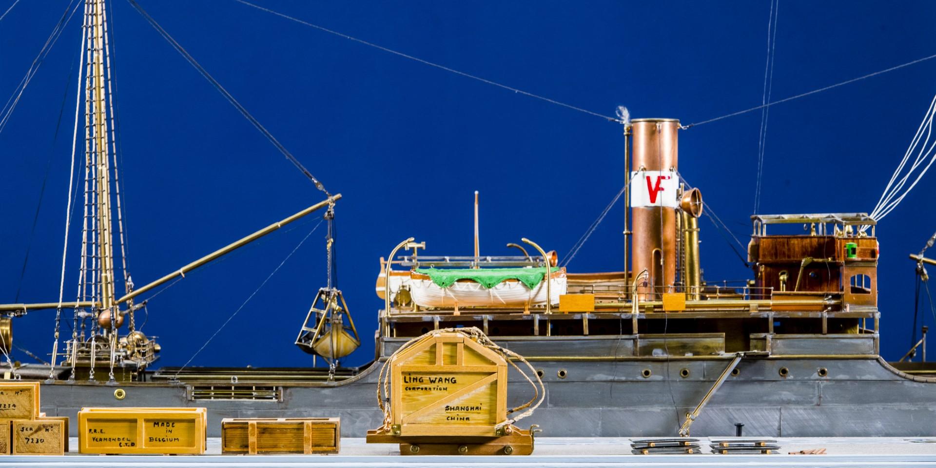 mast van een schip
