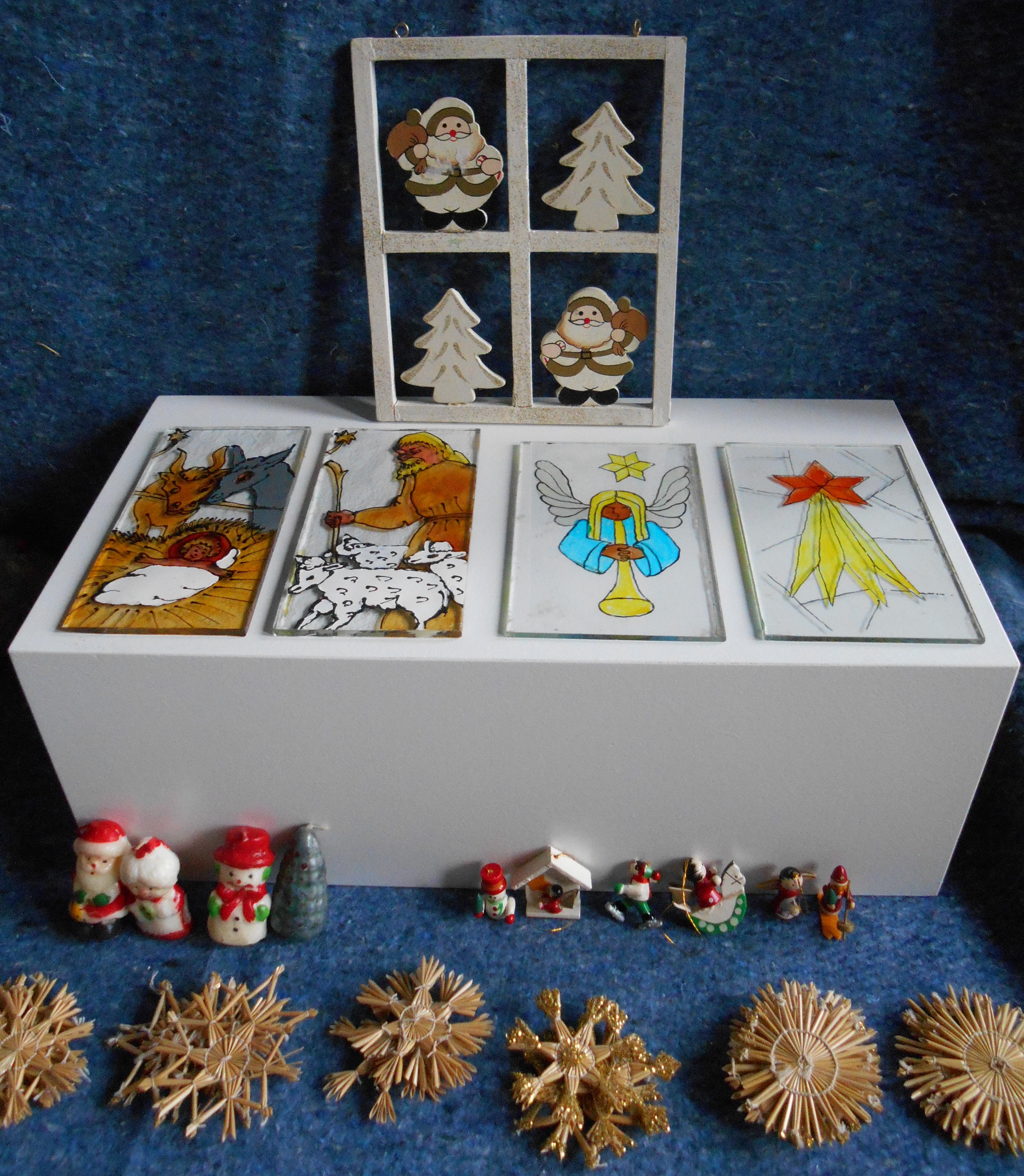 Kerstversiering in de collectie Jaap Kruithof (doos 35 en 69)